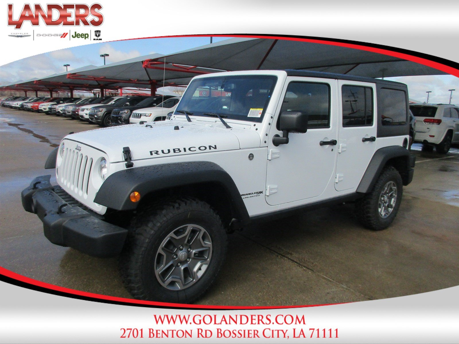 New 2018 Jeep Wrangler Unlimited Rubicon Sport Utility In Bossier Jk Running Boards