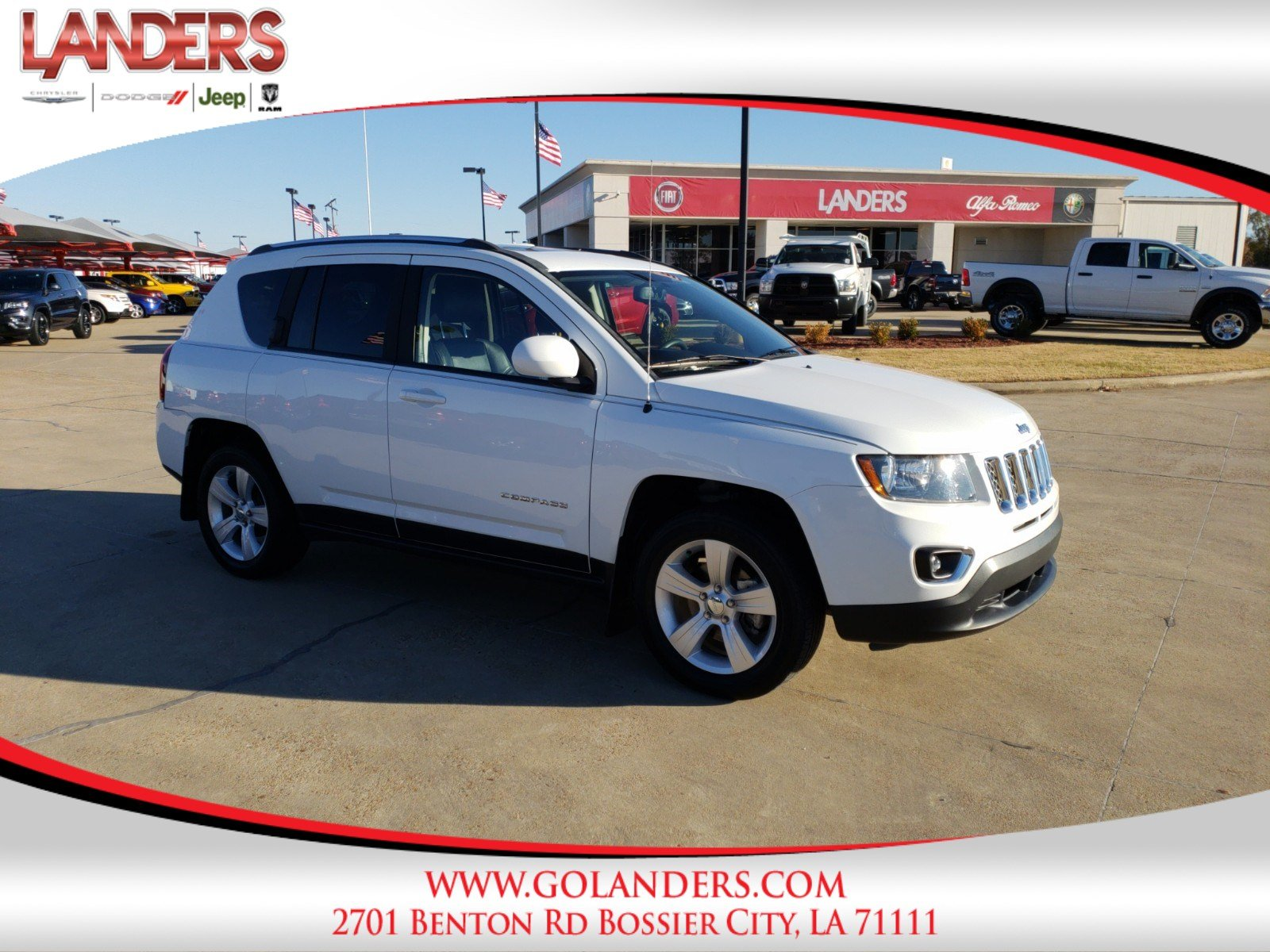 Certified Pre Owned 2015 Jeep pass High Altitude Edition Sport