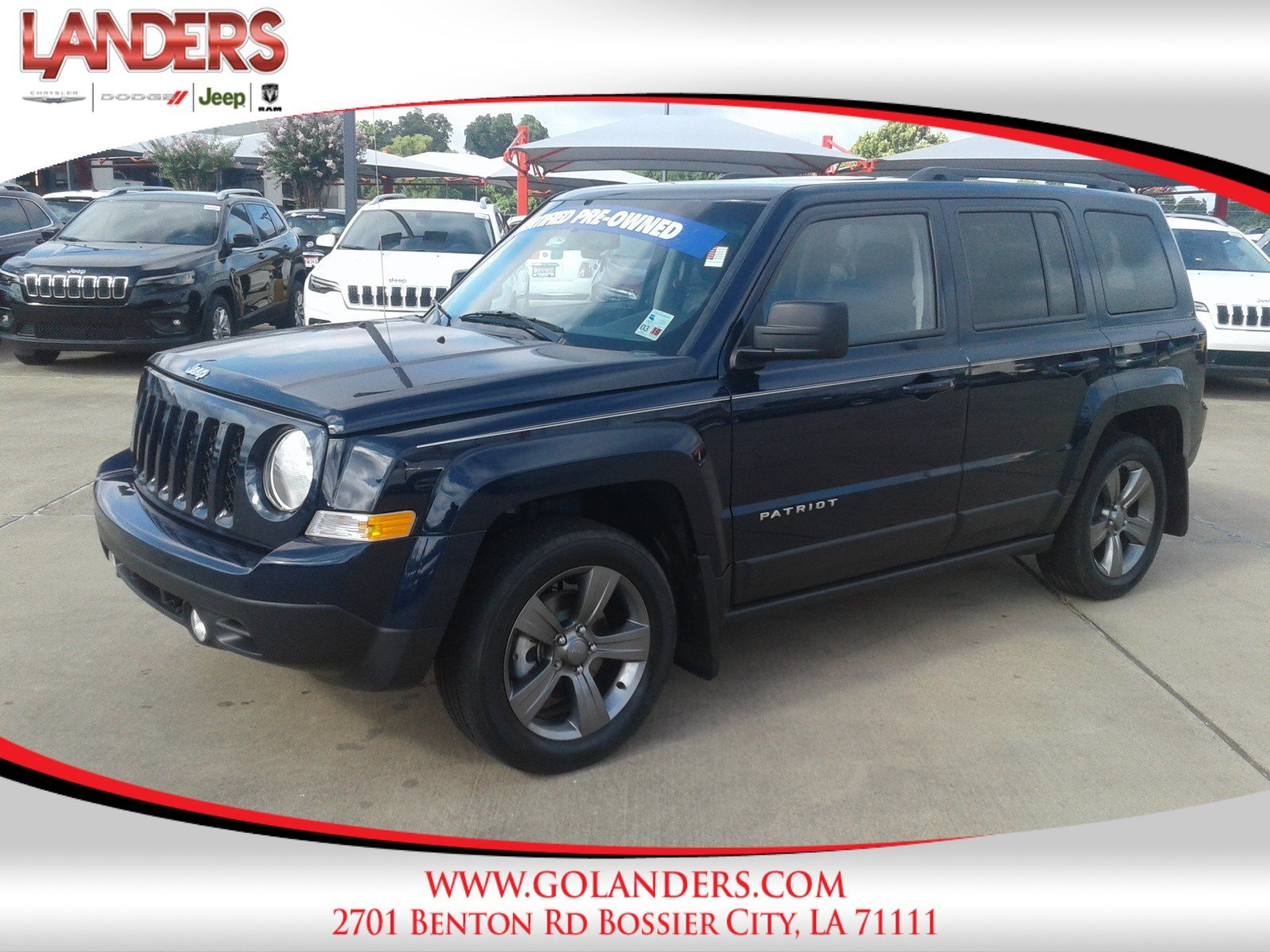 Certified Pre Owned 2015 Jeep Patriot High Altitude Edition Sport