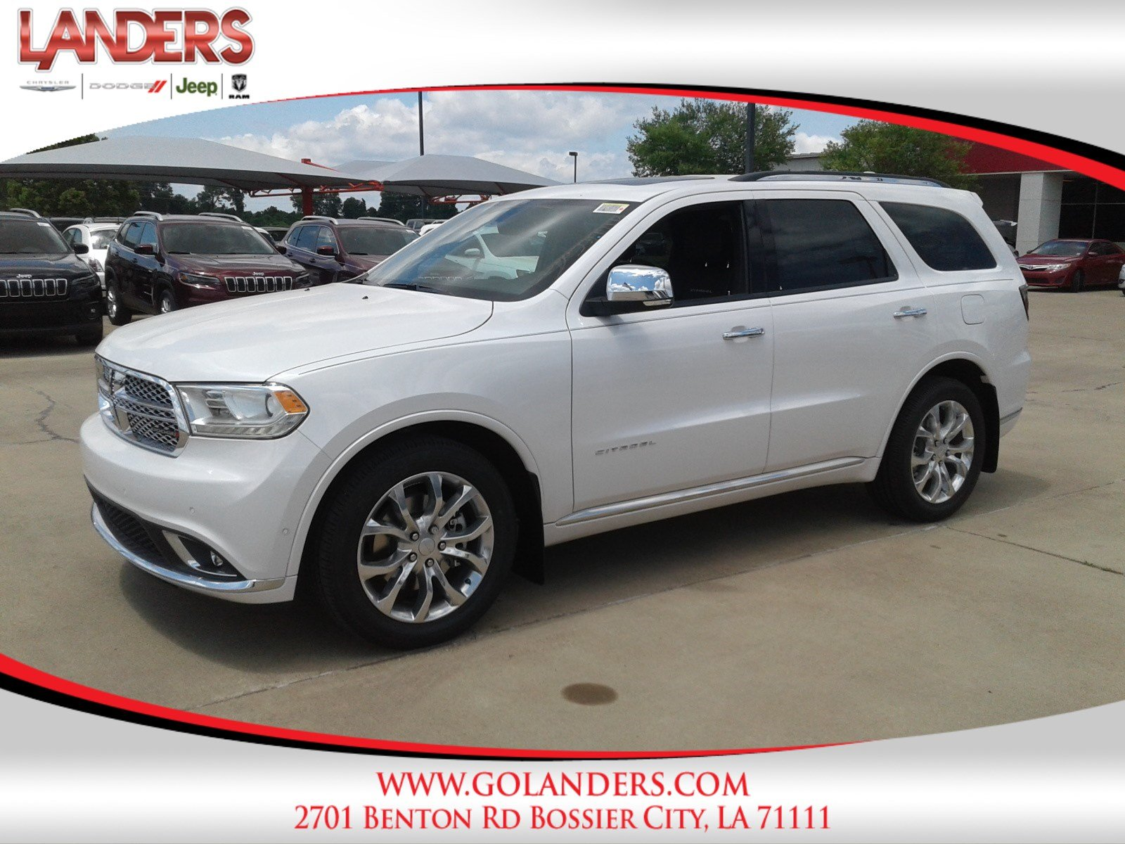 New 2018 DODGE Durango Citadel Sport Utility in Bossier City