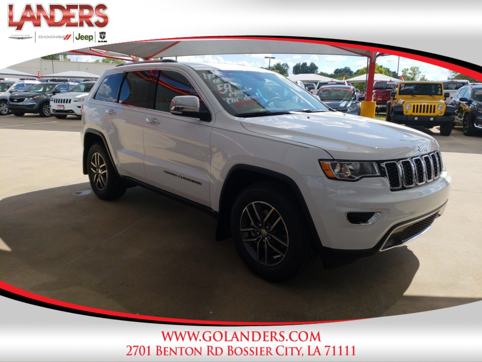 New 2018 JEEP Grand Cherokee Limited Sport Utility in Bossier City
