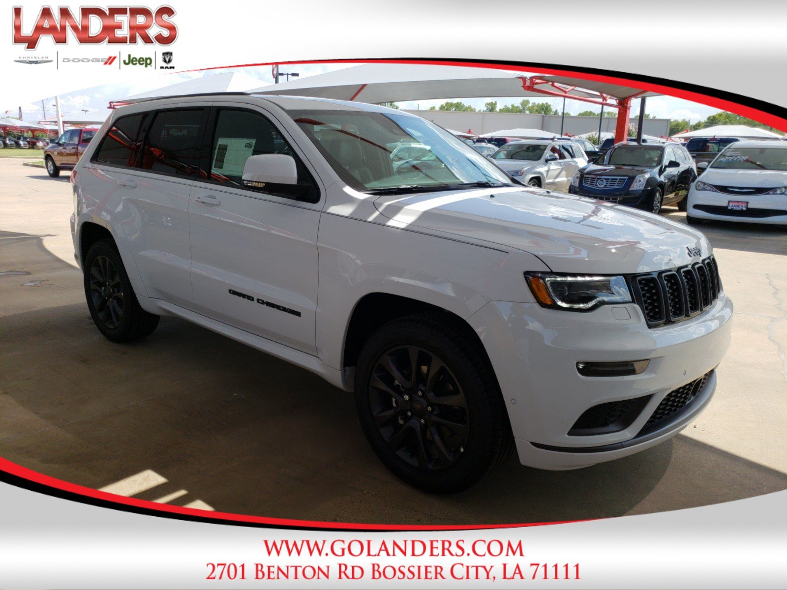 New 2018 Jeep Grand Cherokee High Altitude Sport Utility In Bossier 0 Dodge Dakota Custom Fit Vehicle Wiring Tow Ready