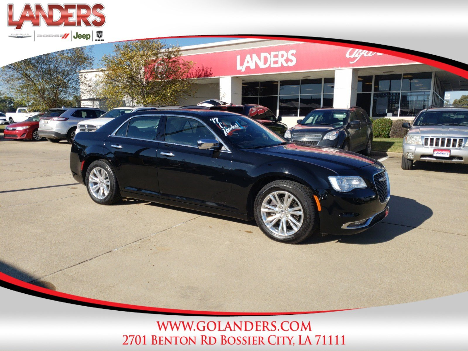 Certified Pre Owned 2017 Chrysler 300 300C 4dr Car in Bossier City