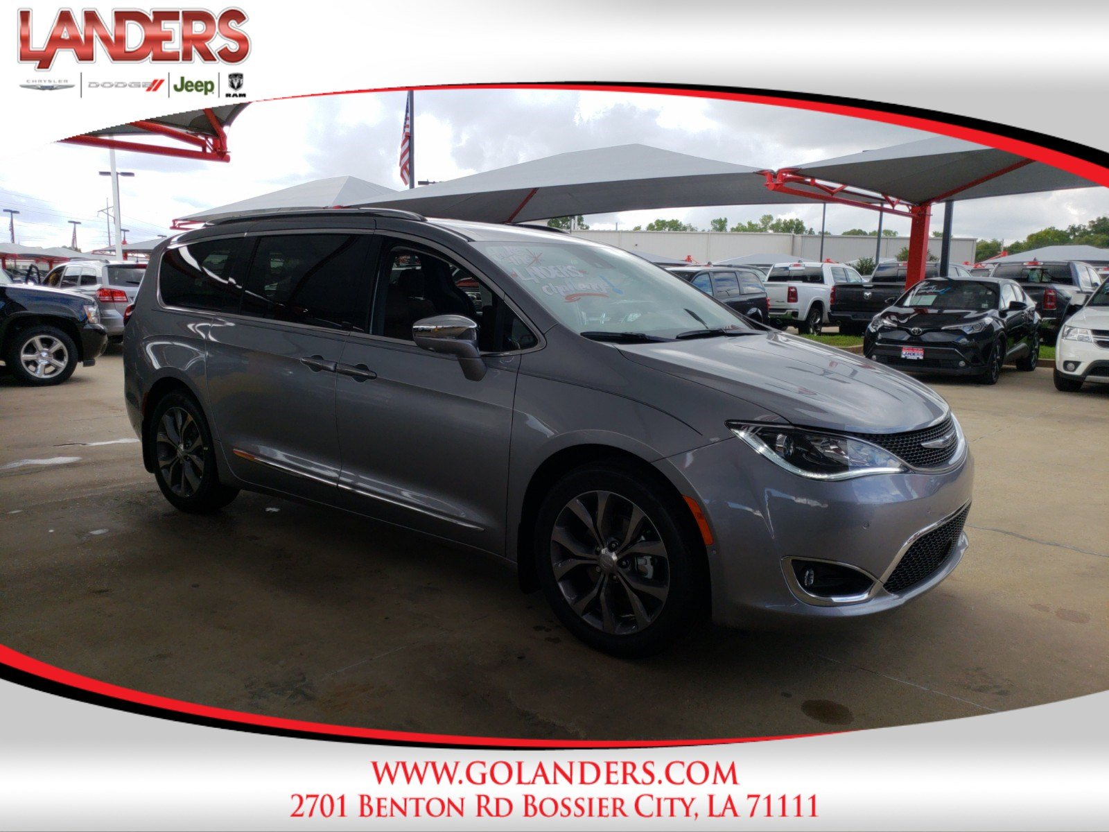 New 2018 CHRYSLER Pacifica Limited Passenger Van in Bossier City