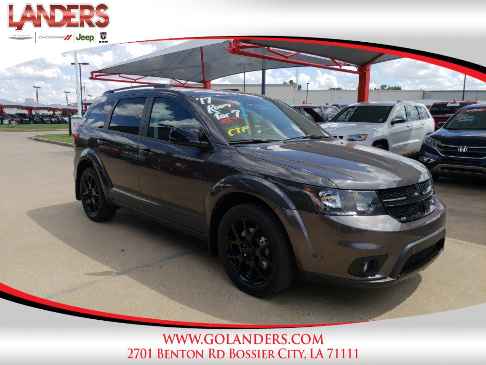 Pre Owned 2017 Dodge Journey Sxt Sport Utility In Bossier City