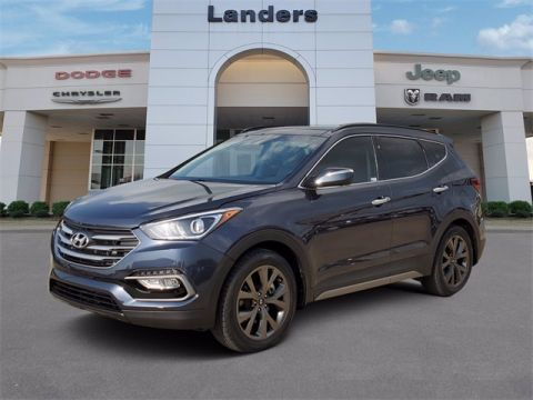 Pre-Owned 2017 Hyundai Santa Fe Sport 2.0L Turbo Ultimate With Navigation