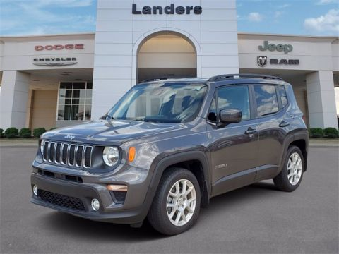 Pre-Owned 2019 Jeep Renegade Latitude FWD 4D Sport Utility
